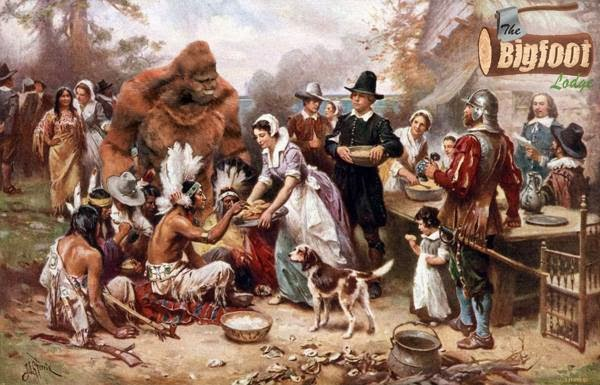Bigfoot-At-Thanksgiving
